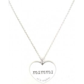 VENERE 925 COLLANA MAMMA-C01