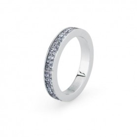 S'AGAPO' ANELLO DONNA CRYSTAL RING-SCR33